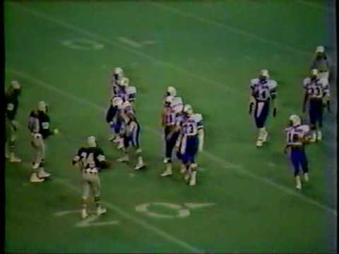 West Brook vs Baytowns Sterling 1982 Texas 5A Playoffs-2nd R