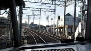 名鉄パノラマカー 木曽川橋通過