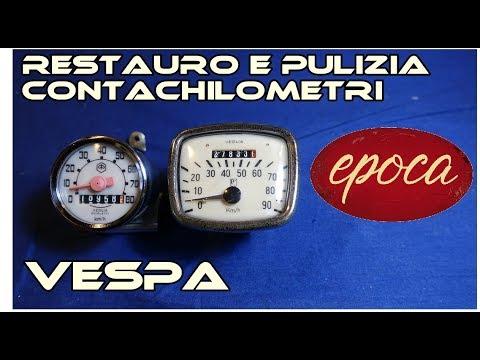 epoca - Tutorial Restauro Contachilometri - Vespa VNA VNB e Vespa 50 R