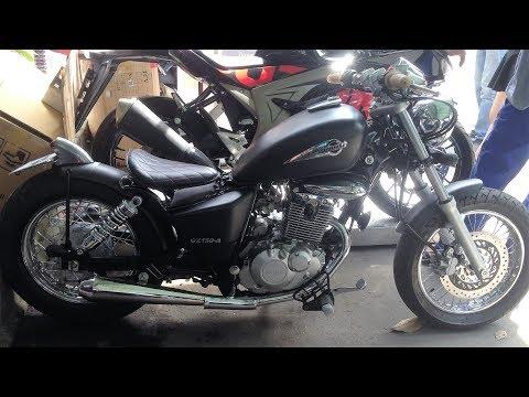 Chi tiết mẫu côn tay 150cc Suzuki GZ 150-A độ phong cách Bobber Chính hãng - CuongMotor