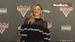 Jaime King and son James Knight Newman at  'Cars 3' Anaheim premiere