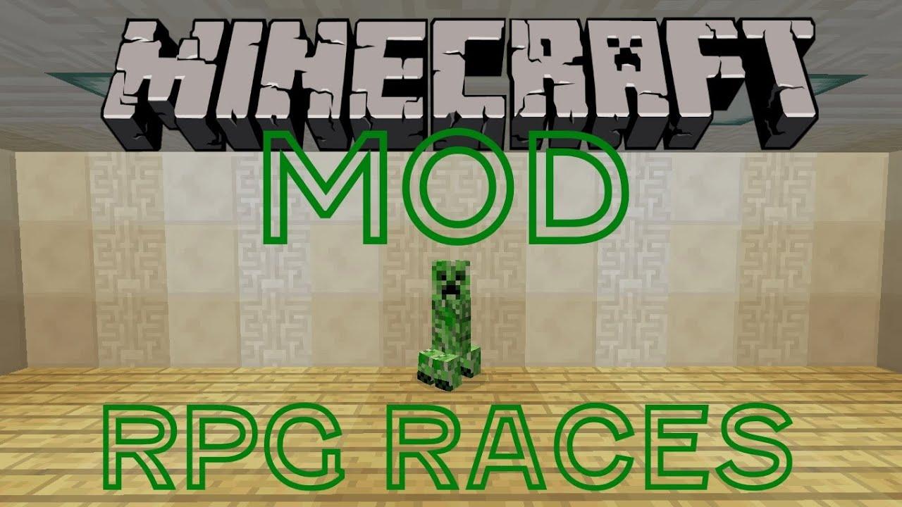 Minecraft Mod | RPG Races Mod!