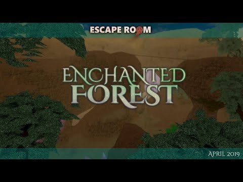 Roblox Escape Room Enchanted Forest Walkthrough Youtube
