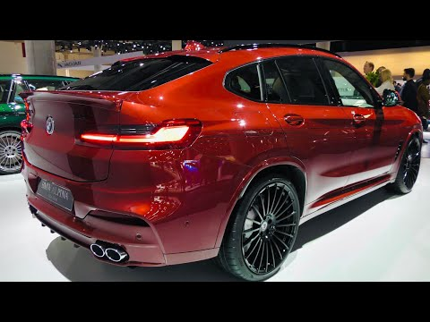 ALPINA XD4 SUV - Quad-turbocharged engine produsing 380 HP (4K) - Supercars DD