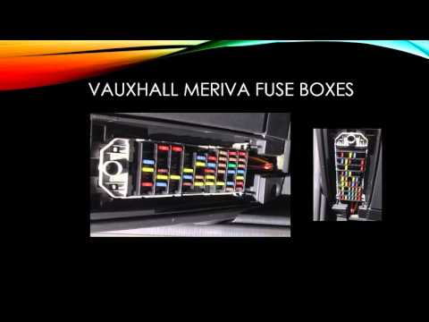 vauxhall meriva fuse box diagram vauxhall wiring diagrams online