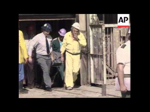SOUTH  AFRICA: ORKNEY: GOLD MINE ACCIDENT UPDATE