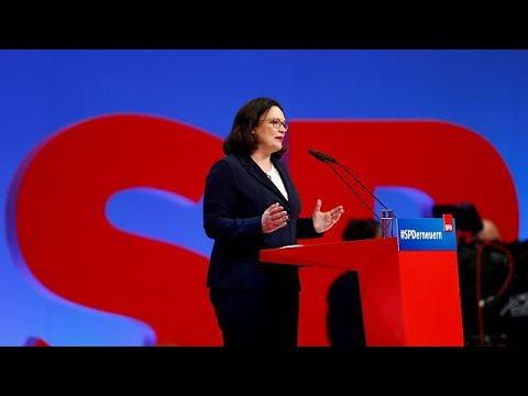 euronews (deutsch): Andrea Nahles: Machtbewusst, taff, polarisierend