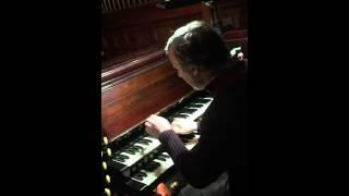 Wichita Lineman played on pipe organ - Rónán Murray YouTube Thumbnail