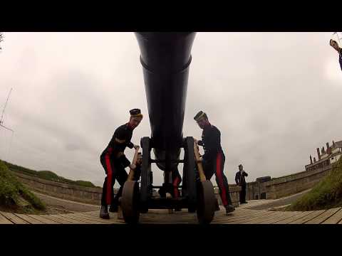 Halifax Noon Day Gun meets a GoPro Hero2