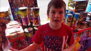 Kids At Fireworks Stand 80,000 Subscribers Special