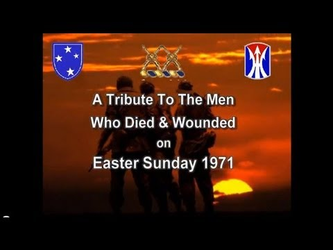Tribute to 11 Brave Men Lost in Vietnam, Easter Sunday April 11, 1971 by WolfieRed1