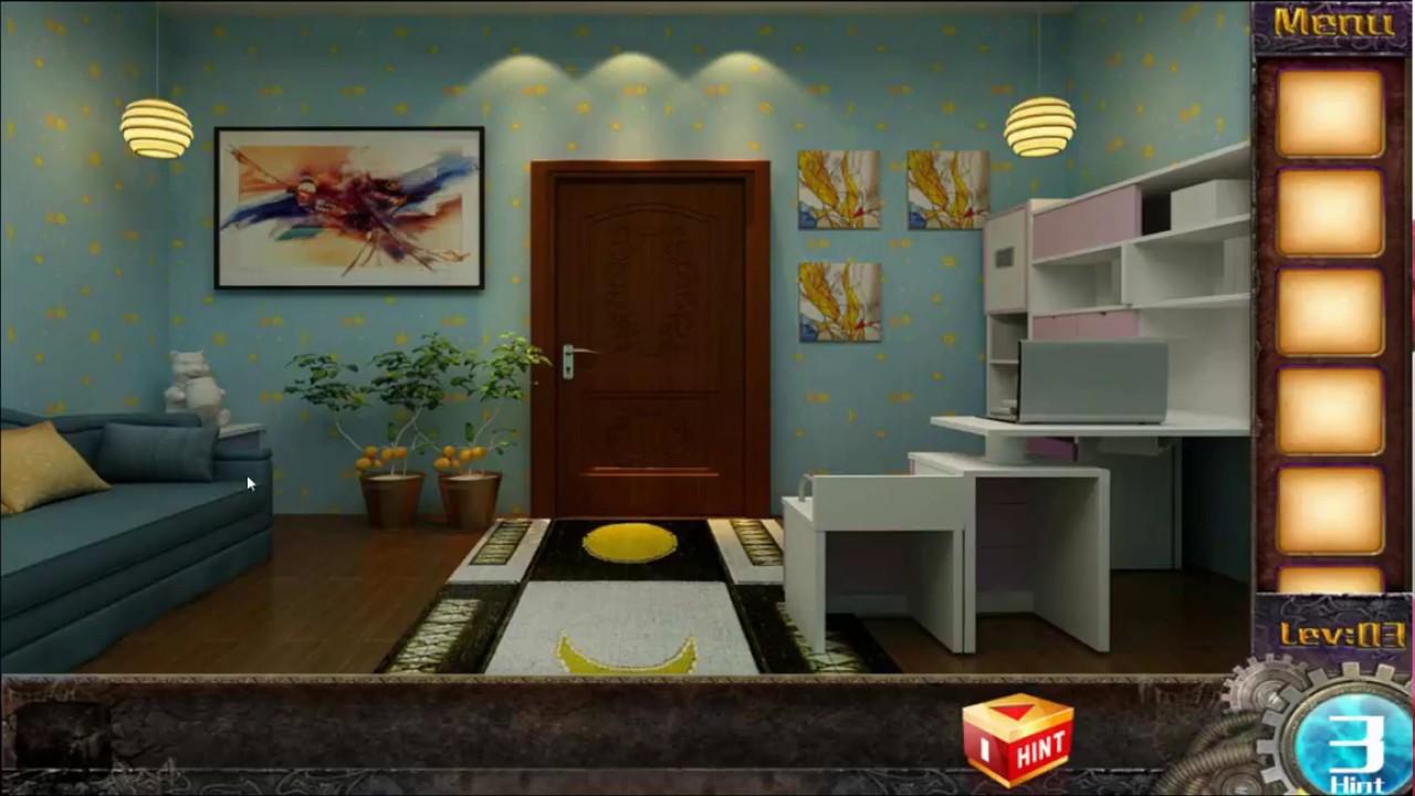 Escape Game 50 Rooms 1 Level 3 Walkthrough Youtube