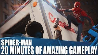 Marvel's Spider-Man - 20 Minutes Of Amazing Open World PS4 Gameplay