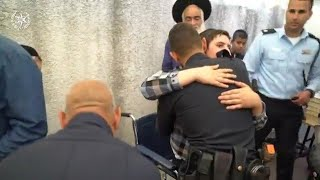 Boy Who Survived Meron Stampede Thanking Police Officer, For Saving His Life.