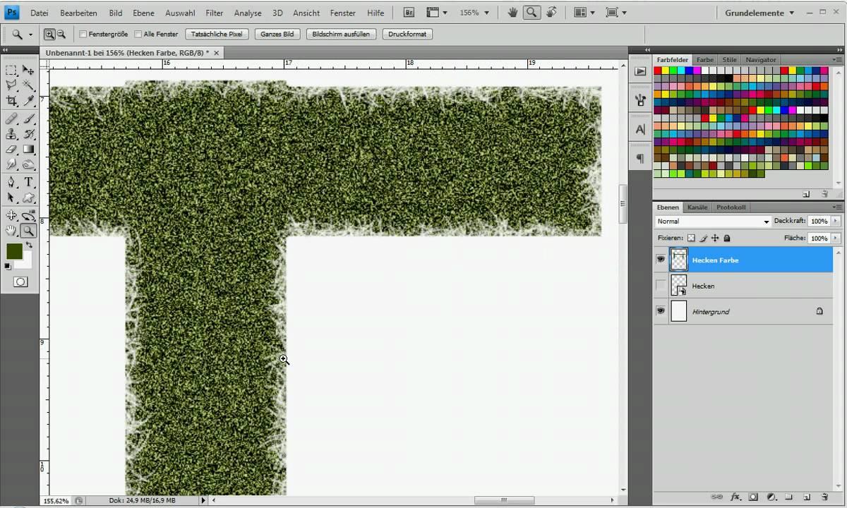 hecken mit photoshop erstellen youtube. Black Bedroom Furniture Sets. Home Design Ideas