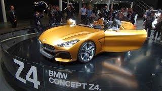 2018 BMW Z4 Roadster G29 Interior Exterior Walkaround | IAA 2017