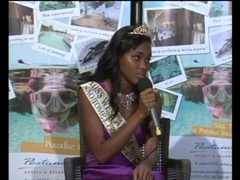 Miss West Africa Sao Tome e Principe 2012