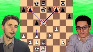 A Masterful Bishop | Sergey Karjakin vs Fabiano Caruana | 2018 Candidates Chess Tournament