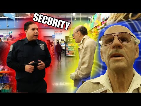 FAKE Grandpa Prank At Walmart **GONE WRONG** (Kicked Out By Security)