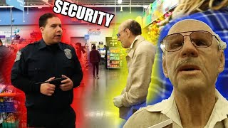 FAKE Grandpa Prank At Walmart (KICKED OUT BY SECURITY)