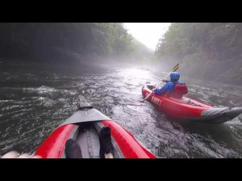Nantahala River Rafting HD - July 2017