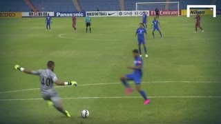 Unbelievable mistake from Lekhwiya's goalkeeper 2017 Video