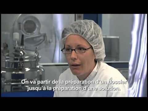 La production du médicament