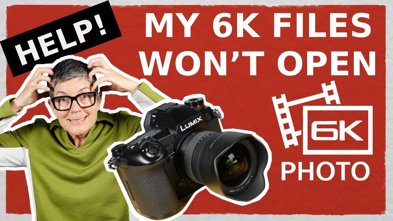 6K Photo Mode Extracting Frames. 6K Files won\'t Open. - YouTube