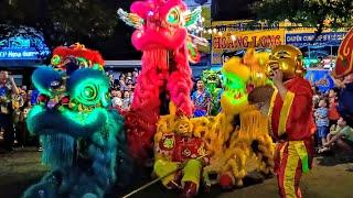 Múa Lân Trung Thu 2019: Rồng Xanh, Chim Lửa, Ngộ Không, Bát Giới Siêu Hài Hước • (Lion Dance 2019)