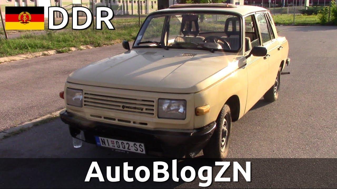WARTBURG limuzina - OLDTIMER TEST model 353S