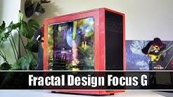 Fractal Design Focus G im Test - Ein Budget-Ferarri in rot