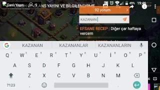 CLASH OF CLANS CAR ÇEKİLİŞİ SONUÇLARI