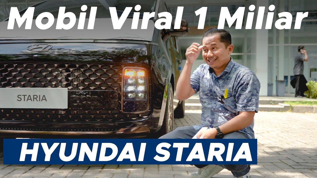 Download OTW Mencoba Hyundai Yang Lagi Viral. Hyundai Staria 2.2 CRDi 2021