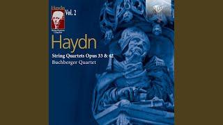 String Quartet in D Major, Op. 33 No. 6, Hob III:42: III. Scherzo. Allegretto