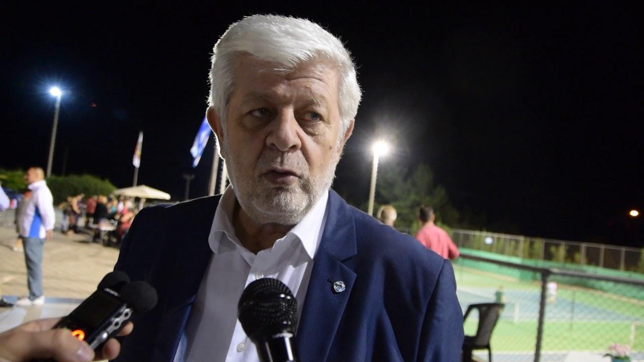 O Δήμαρχος Τρίπολης στους τελικούς του τουρνουά τένις Tripolis Open 2018