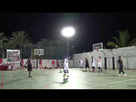 Saudi 67 v 73 Jeddah United - IBL Tournament - 4 May 2017
