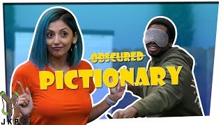 What The %#$@ Is That?! | Blindfolded Pictionary