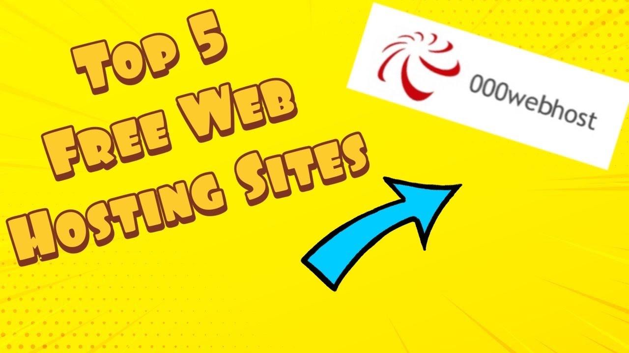 Top 5 *Free* Web Hosting Sites 2020!