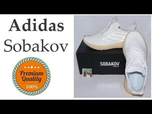 detailed look cd241 12a5e Кроссовки Adidas Sobakov белые с желтой подошвой, рефлективные. Топ  качество! - YouTube