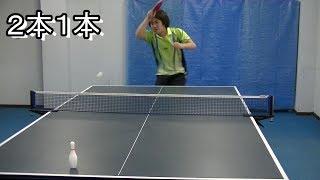卓球部の練習メニュー