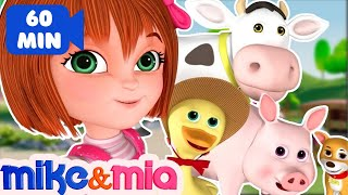 Nursery Rhymes Songs with Lyrics and Action | Collection of Popular Kids Songs by Mike and Mia