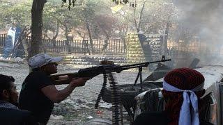 أخبار عربية - ثوار الجبهة الجنوبية يحاولون فتح طريق إلى غوطة دمشق الغربية