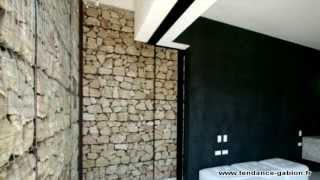Exemples de réalisations en gabion - gabion wall - gabionen - Tendance Gabion