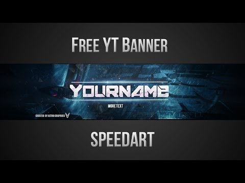 Free YouTube Banner Template (PSD) *NEW 2016* - YouTube