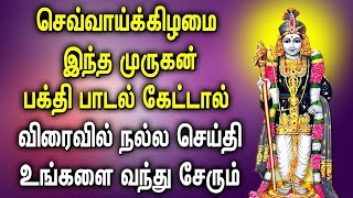 TUESDAY SPL MURUGAN TAMIL DEVOTIONAL SONGS | Best Murugan Tamil Songs | Murugan Bhakti Padalgal