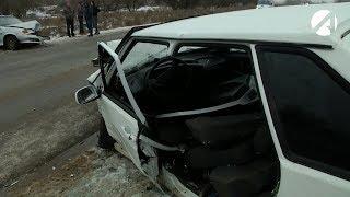В Астрахани гололёд привёл к нескольким серьёзным авариям