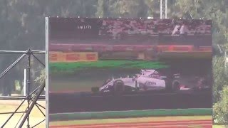 Gran Premio de Mexico 2015. Arrancada.