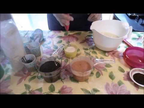 Making & Cutting Coffee House Cold Process Soap With Recipe | Shells Spa Products