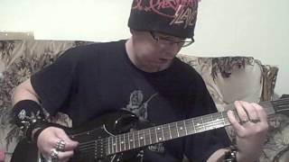 me playing bloodline by slayer on my epiphone 1997 g-310 guitar