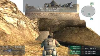 Socom 2 Mission 1 - HD Gameplay - PCSX2